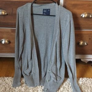 American Eagle size med long cardigan